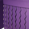"""Набор коробок """"Zigzag"""" (сердце, фиолетовый цвет) 3шт. (0097JA-A)"""