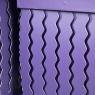 """Набор коробок """"Zigzag"""" (квадрат, фиолетовый цвет) 3шт. (0098JA-A)"""