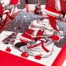"""Набор подарочных коробок """"Снежная ночь"""" 3 шт. средние (8013-006)"""