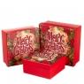 """Набор подарочных коробок """"Merry Christmas"""" 3 шт. средние (8013-009)"""
