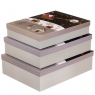 """Набор подарочных коробок """"Лесные ели"""" 3 шт. Большие (8013-017)"""