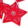 "Набор подвесок ""Рождество"" (микс, 9шт) (0449j)"