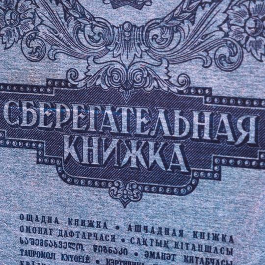 """Книга сейф """"Сберегательная книжка"""" (26*17*5)"""