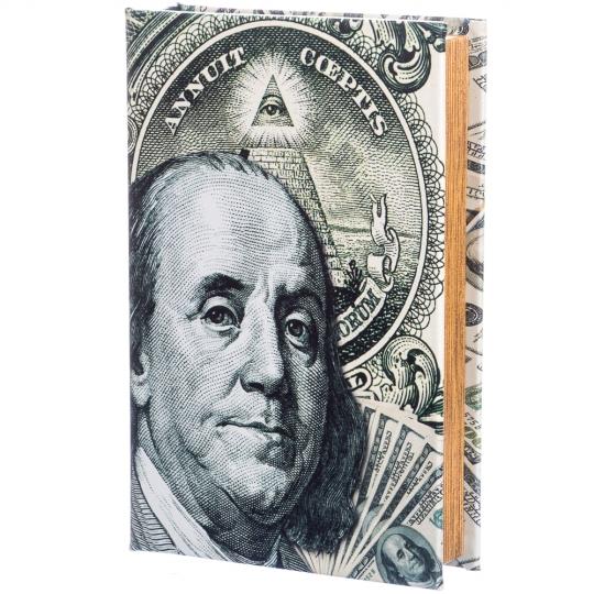 """Книга сейф """"Бенджамин Франклин"""" (26*17*5)"""
