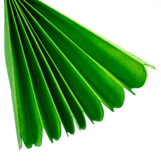 Бумажный пом-пон, зеленый 40 см. (8705-019)