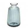 """Стеклянная ваза """"Монталь"""", 11 см., синяя (8605-048)"""