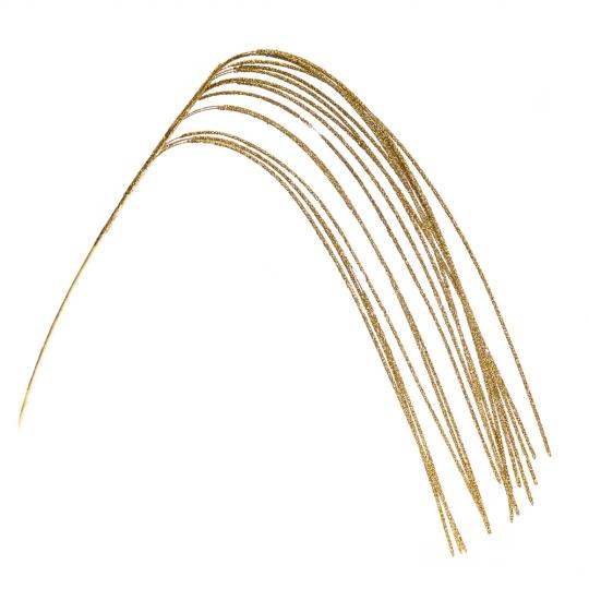 Веточка новогодняя, золото 118см (8002-003)