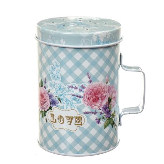"""Банка для хранения соли с ручкой """"Love"""" (8113-009)"""