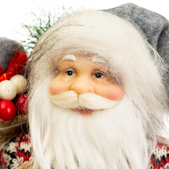 """Фигура """"Дед Мороз с мешком на спине"""" (023NC)"""