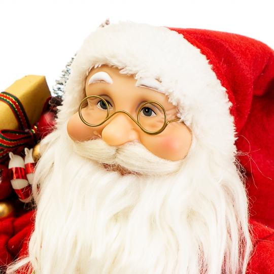 """Фигура """"Санта Клаус с фонарем"""" (030NC)"""