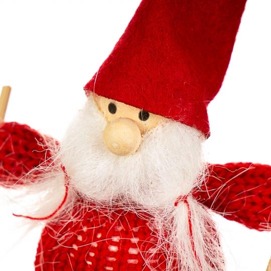 "Игрушка ""Дед Мороз на лыжах"" (002NV)"