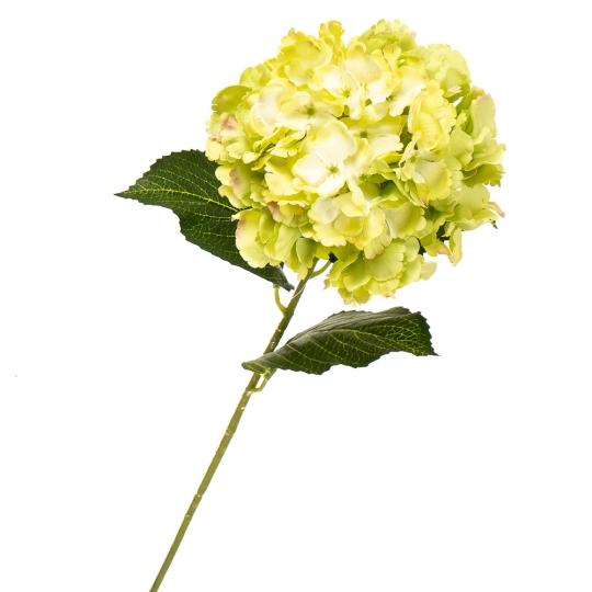 """Цветок искусственный """"Гортензия лимонная"""" (2000-003GN)"""