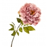 """Цветок искусственный """"Пионовидная роза цвета танго"""" (2000-009PL)"""