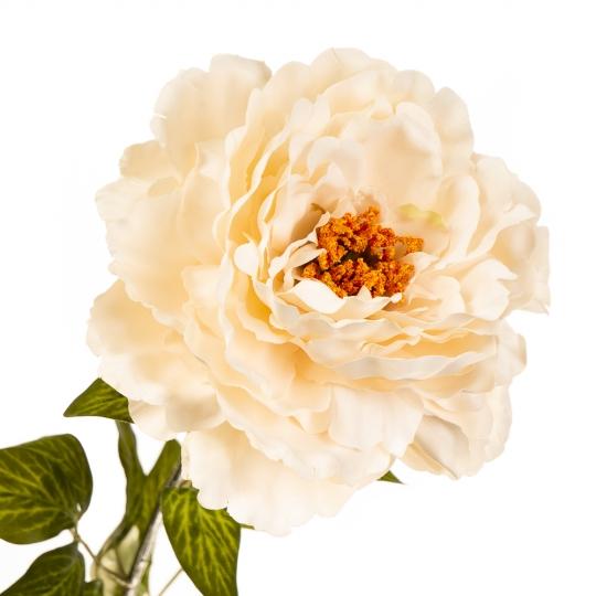 """Цветок искусственный """"Пионовидная роза белая"""" (2000-011WT)"""