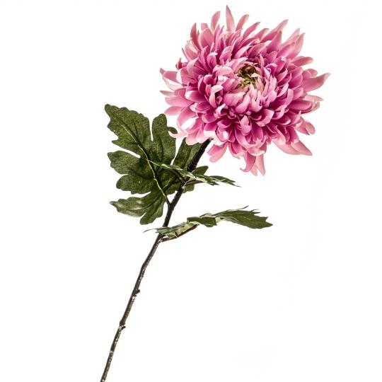 """Цветок искусственный """"Хризантема розе"""" (2000-025PK)"""