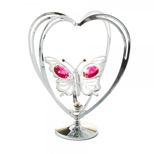 "Фигурка ""Бабочка в сердце"" (0002-004 SL)"