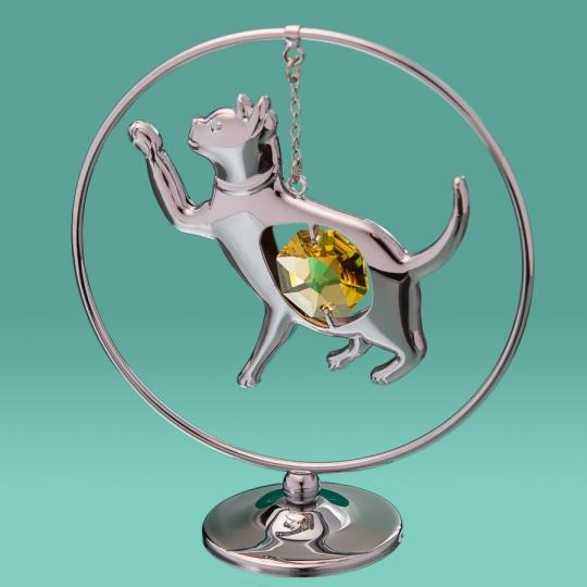 "Кольцо ""Кошка"" (0275-105 SL)"