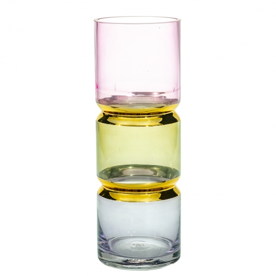 "Стеклянная ваза ""Чакры"", 30 см. (8604-006)"