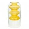 """Cтеклянная ваза """"Солнечное тепло"""", 15 см. (8605-021)"""