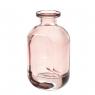 """Стеклянная ваза """"Диор"""", розовая (8605-027)"""