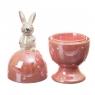 Подставка под яйцо Пасхальный кролик 6*6*16 см (4000-002)