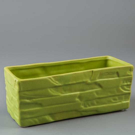 Керамический вазон (20*8*8 см) (001-O)