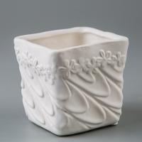 Керамический вазон (8*8*8 см)