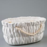 Керамический вазон (20*13*10 см)