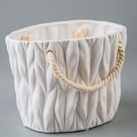 Керамический вазон (17*13*12 см)