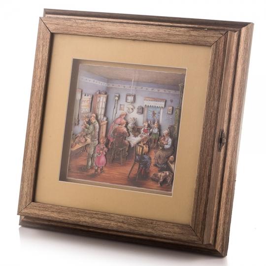 Ключница-картина (26*26*5 см) (001KH)
