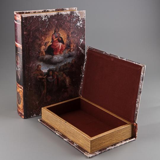 """Книга-шкатулка """"Святые небеса"""" (33*22*7 см)"""